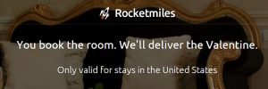 Rocketmiles wants to make your Valentine's Day extra special.