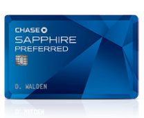 The Chase Sapphire Preferred gives you 3x the Dining Points today!