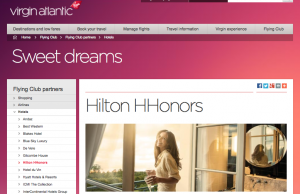 Your Virgin miles will get you 25% fewer HHonors points next week.