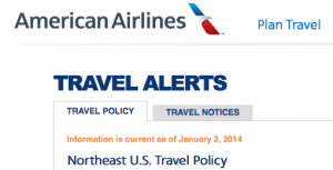 Paying attention to an airline's travel alerts can mean you're among the first to rebook without penalties.