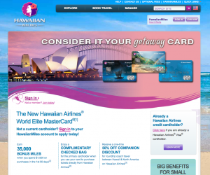 The new Hawaiian Airlines credit cards offer calendar year spending bonuses.