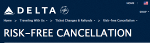 Delta is among the airlines that will let you cancel for free within 24 hours.
