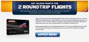 Leverage the current Southwest credit card bonuses as well.