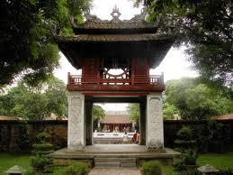 Hanoi's Temple of Literature.