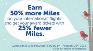 Turkish Air Miles&Smiles has two great offers in February.