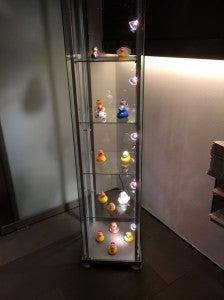 She also got their signature duckies as souvenirs.
