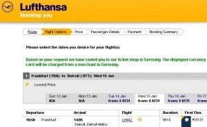The same ticket would have cost over 8,000 euros!