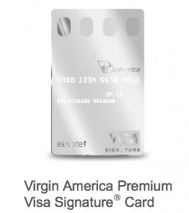 Virgin America Visa Premium