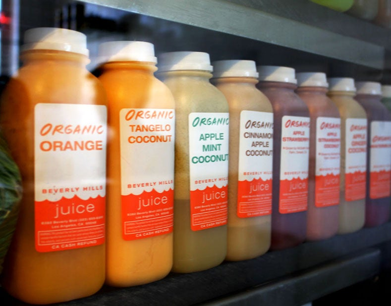 20 best juice bars in america the points guy part of the lineup at beverly hills juice malvernweather Images