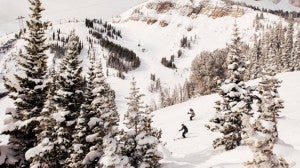 The area is known for expert-level slopes. Photo courtesy of Four Seasons.
