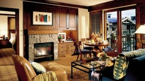 A Premium One-Bedroom Suite at the Four Seasons Jackson Hole.