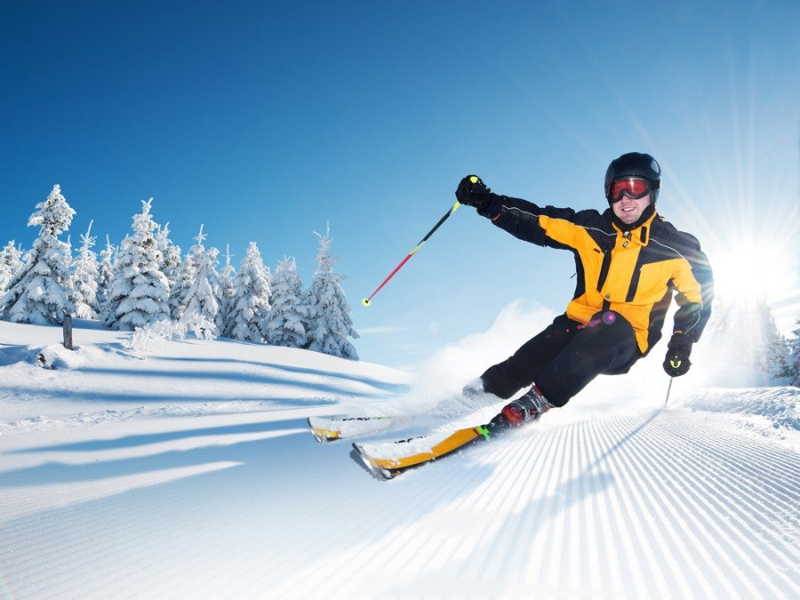 Win one of several Minnesota ski trips. Image courtesy of Shutterstock.