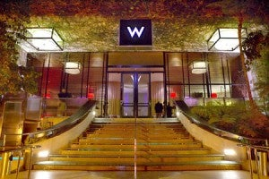 The W Westwood - where I often stay in LA - is moving up.