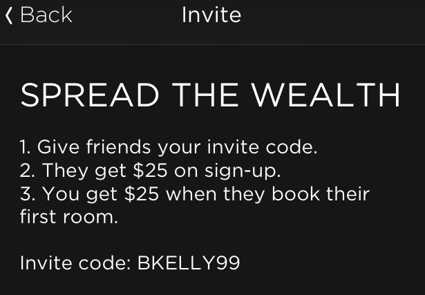 BKELLY99 Hotel Tonight Code