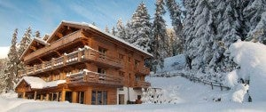 The Lodge Verbier, in the Swiss Alps