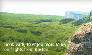 Earn bonus points on Emirates new Boston route.