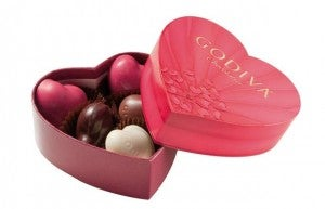 The TPG team loves Godiva...feel free to maximize those points and send us some!