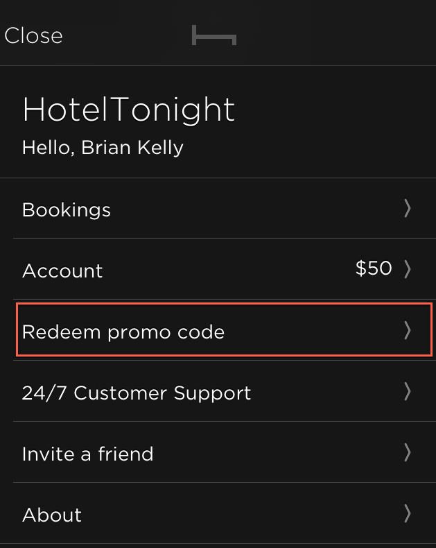 Free Promo Codes Coupons For Lyft Uber Hotel Tonight Airbnb Screenshot On Ios