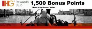 Earn 1,500 bonus points on your next IHG stay.