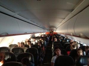 The all coach cabin.