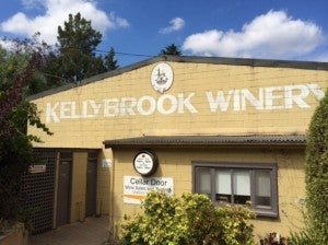 Our first stop: Kellybrook Winery.