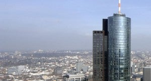See Frankfurt from the viewing platform of the Main Tower.