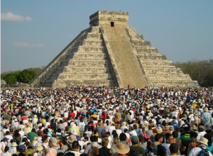 One March idea is to rin in the spring equinox at Chichén Itzá.