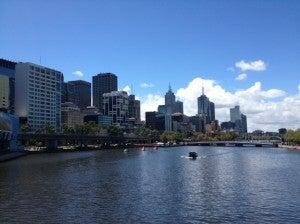 Melbourne river