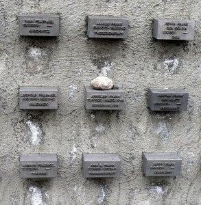 The Holocaust War Memorial.