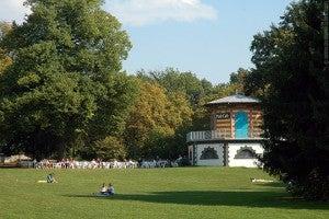 Gruneburgpark in Frankfurt.