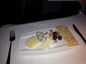 The cheese course.