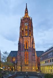 The Dom, a cathedral in Frankfurt.