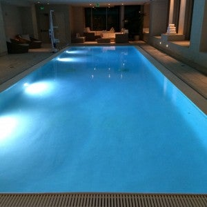 Indoor pool at the St. Regis