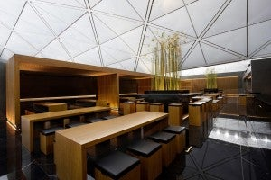 Cathay Pacific's First Class Lounge in Hong Kong