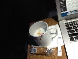 My secret cappuccino.