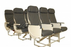 Alaska Airlines' economy seats on their new 737-900s