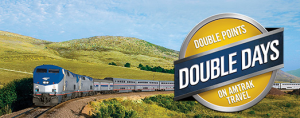 Get double points with Amtrak this spring.