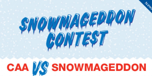 Share a winter story and win a travel voucher from CAA.