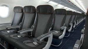Economy on jetBlue's A321