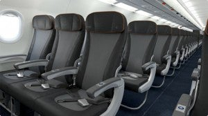 Economy on jetBlue's A321
