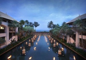 The beautiful JW Marriott Phuket