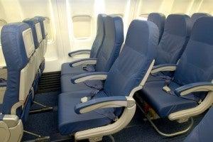 Economy seats on Delta's 73H