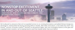 Delta has expanded in Seattle, and as a result is dropping codeshare flights with Alaska.