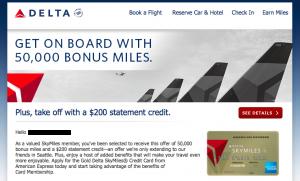 Delta Seattle Amex