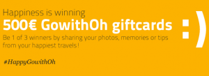 Win a 500 euro voucher for GoWithOh vacation rentals.