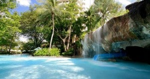 Enjoy one of the 7 pools at the Hilton in Phuket.