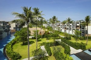 A view of the Holiday Inn Mai Khao resort in Phuket.