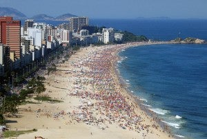 Ipanema Beach.