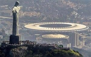 Maracana Statdium in Rio.