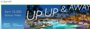 Get 25,000 Delta Skymiles for 5 stays at Marriott properties.